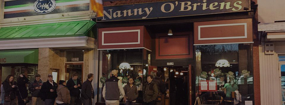 Live Music every Friday & Saturday at Nanny O'Briens